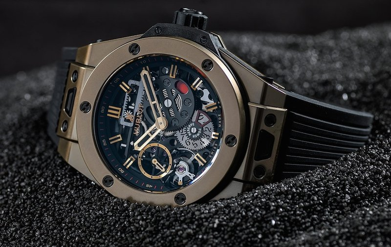 Hublot Big Bang MECA-10 Magic Gold came out at LVMH Geneva Watch Fair 2017.
