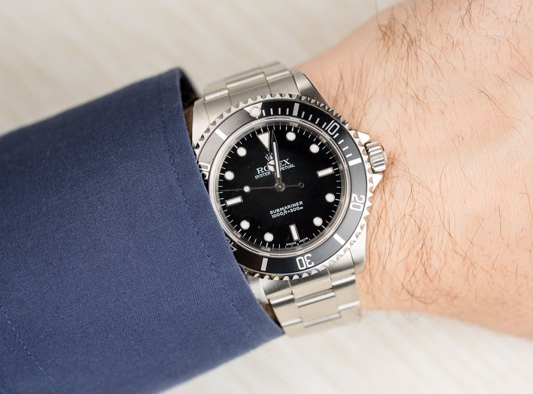 Wearing a Rolex that fits will always look right
