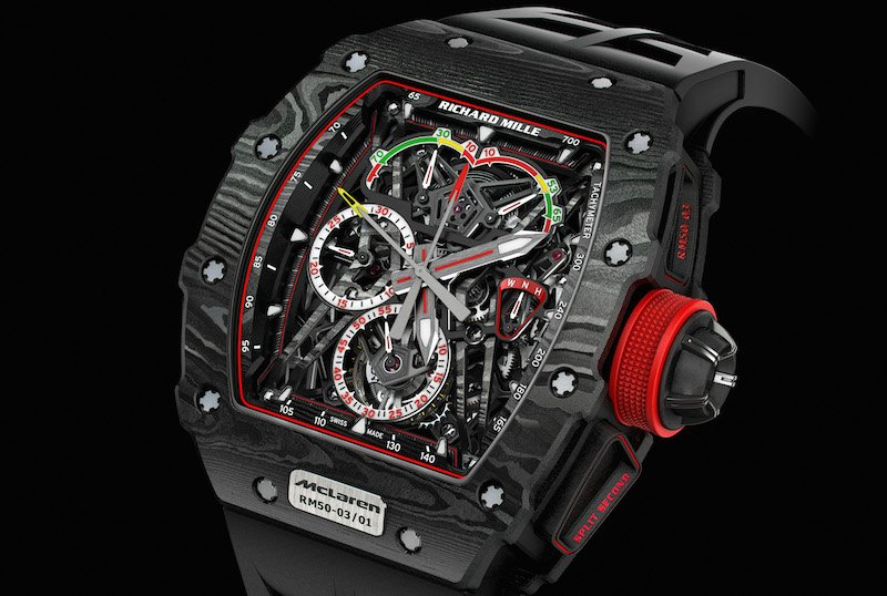 RM 50-03 is the final product from McLaren and Richard Mille working together.