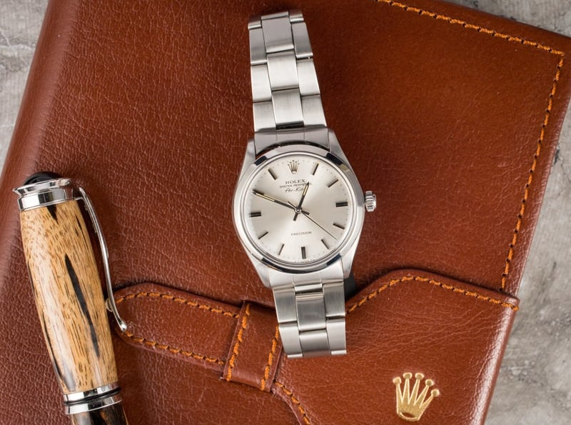 Rolex Air-King Ref. 5500 was made to honor the British in World War II.