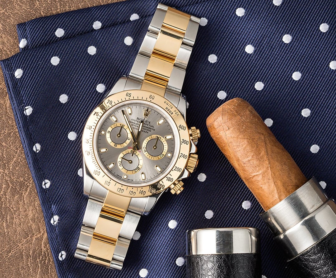 The Rolex Daytona ref. 116523 is a difficult watch to polish.