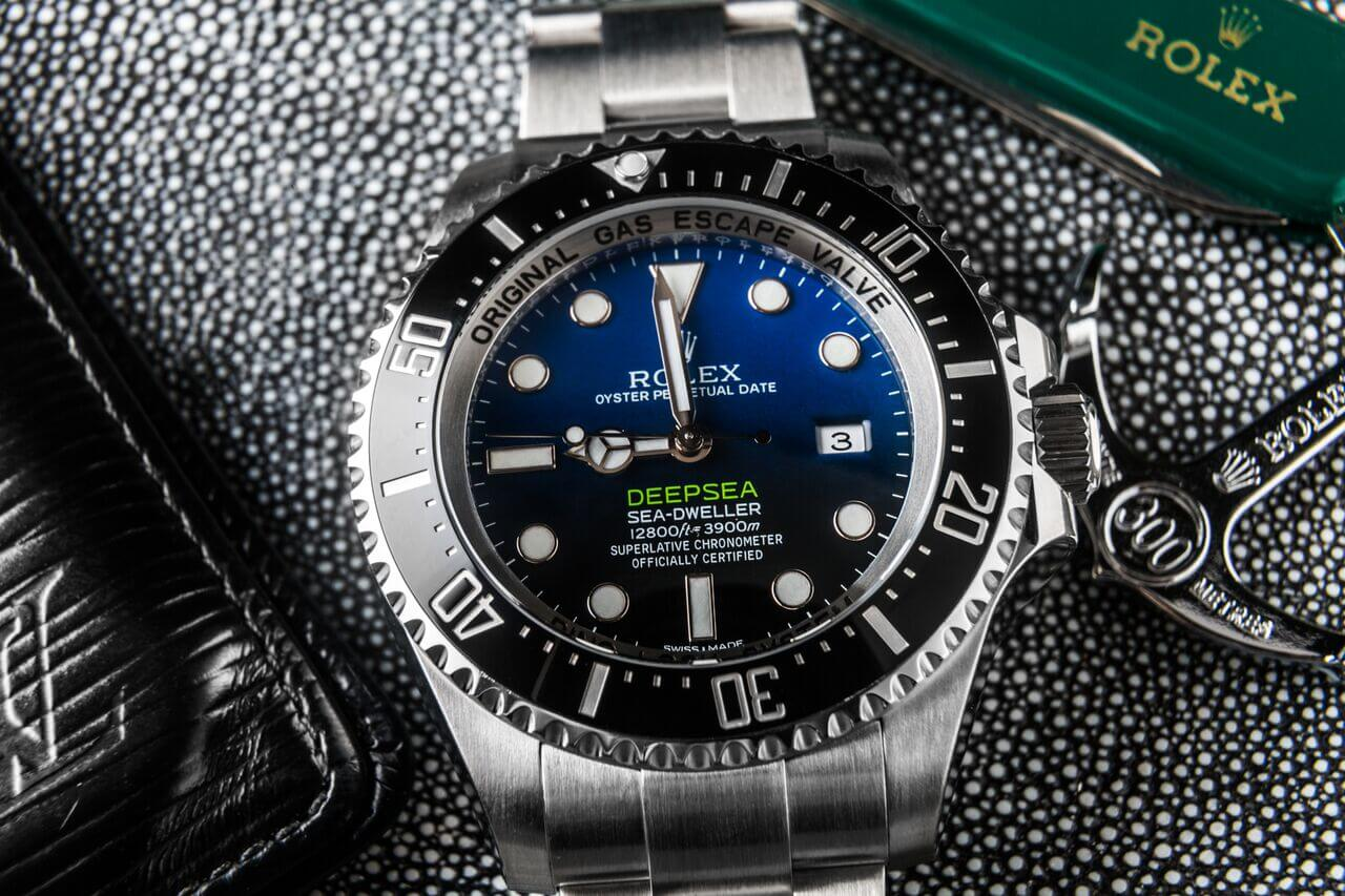 Rolex Deepsea Ref 116660 inspired from James Cameron.
