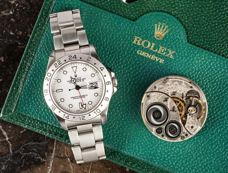 The Rolex Explorer II comes in many variations.