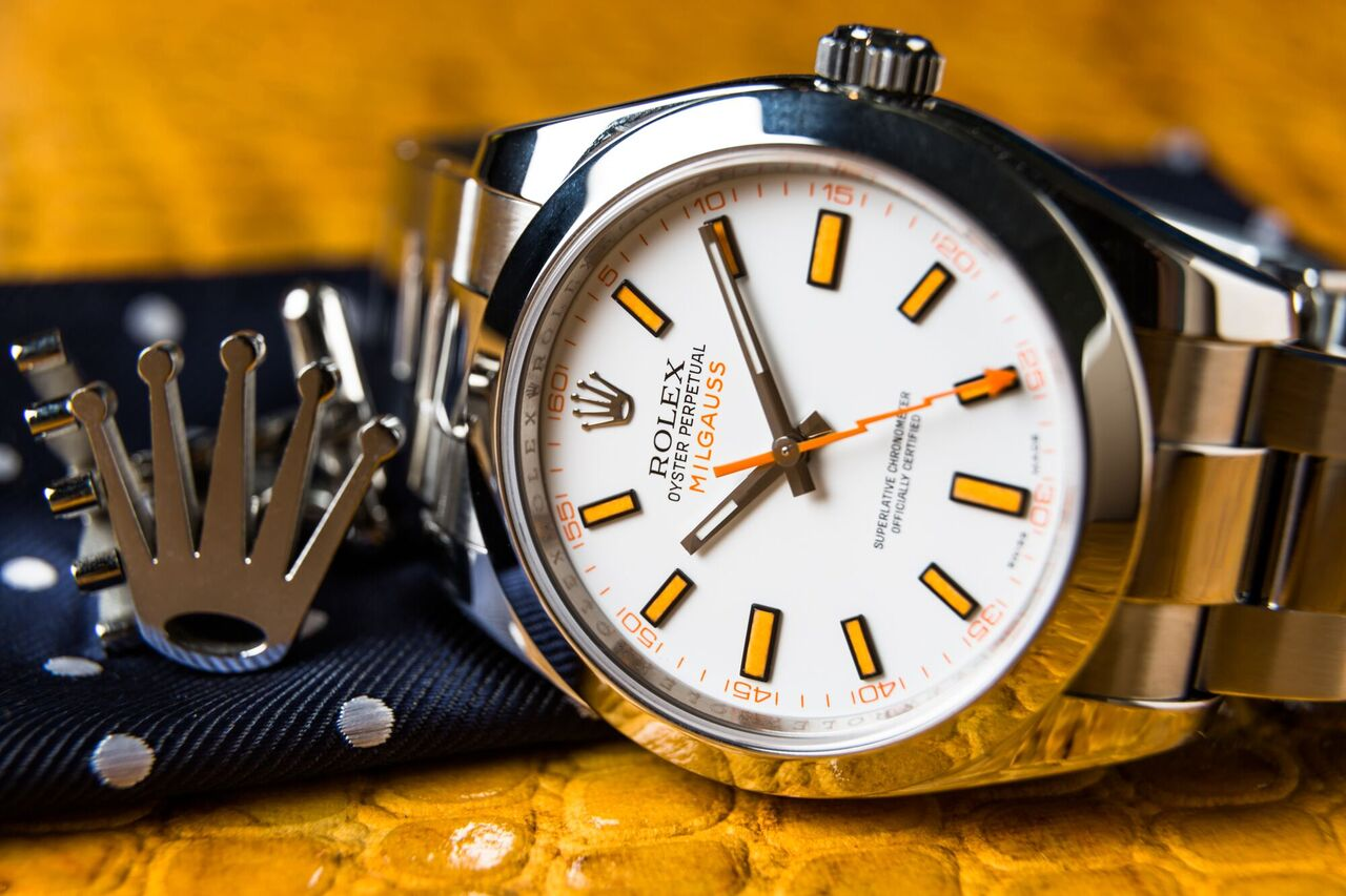 The Milgauss is a beautiful watch, truly a Rolex achievement.
