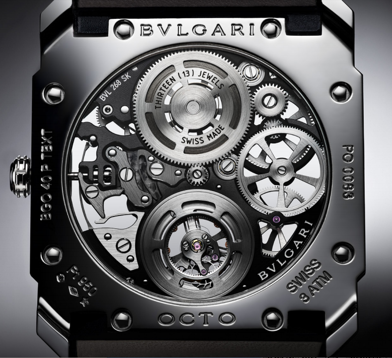 The Bulgari Octo is a watch made by the legendary Gérald Genta.