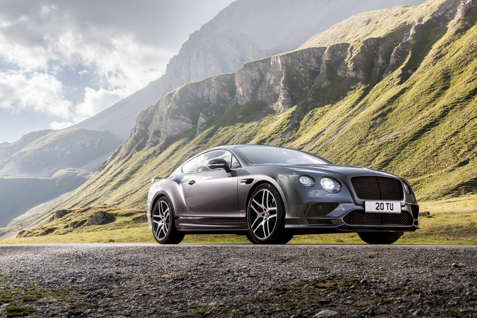 Space Grey Continental Supersports Car