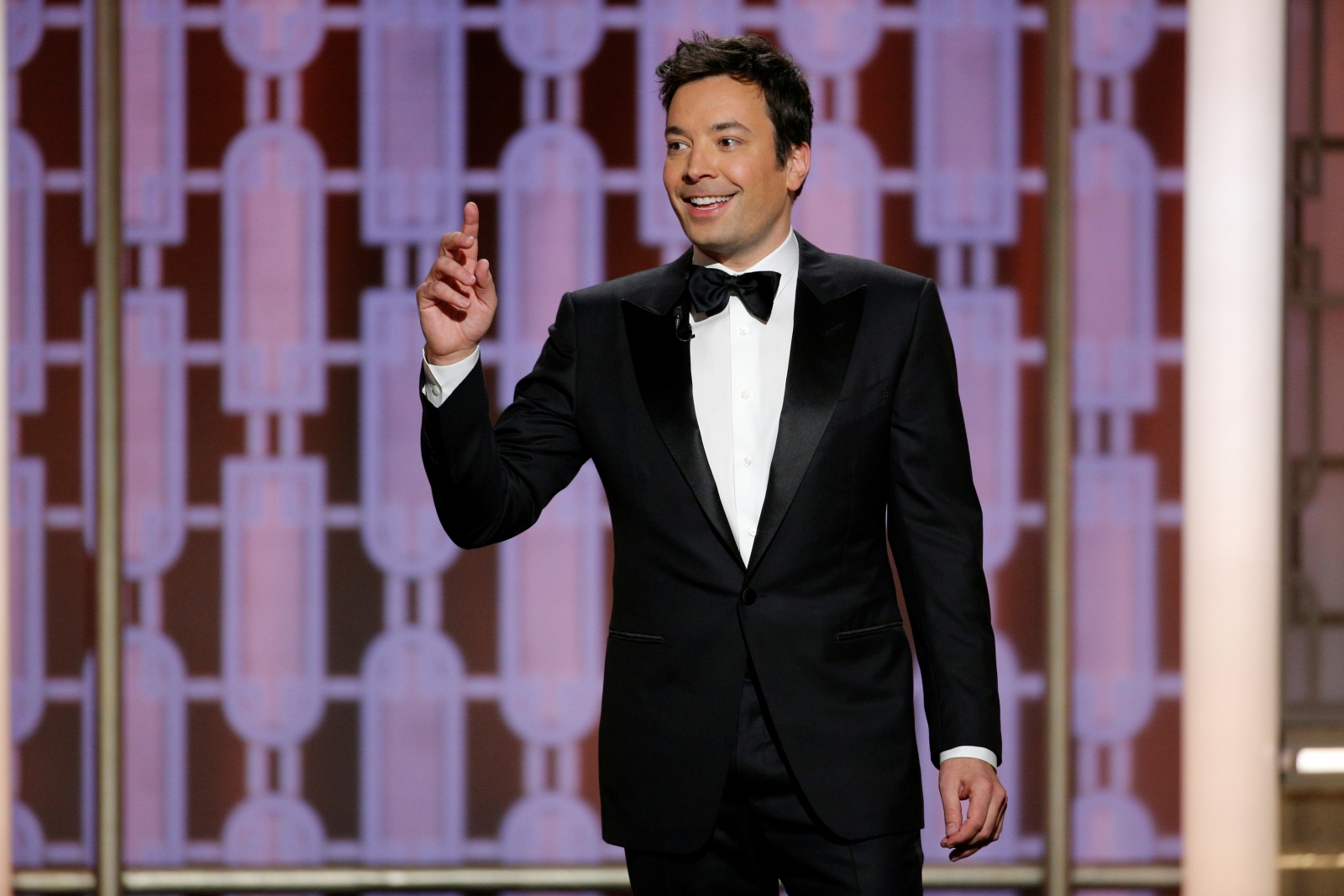 Jimmy Fallon is the host of the show.