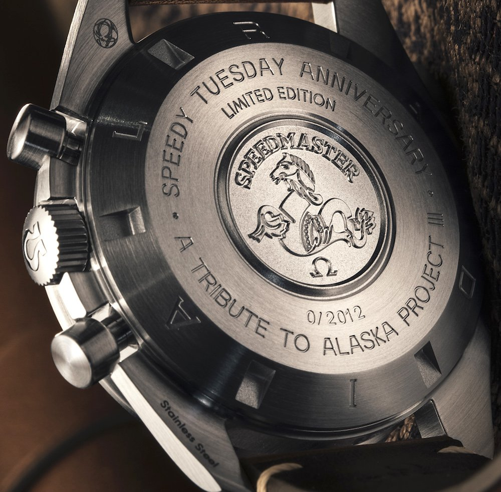 "This watch has the inscription ""A TRIBUTE TO ALASKA PROJECT III"""