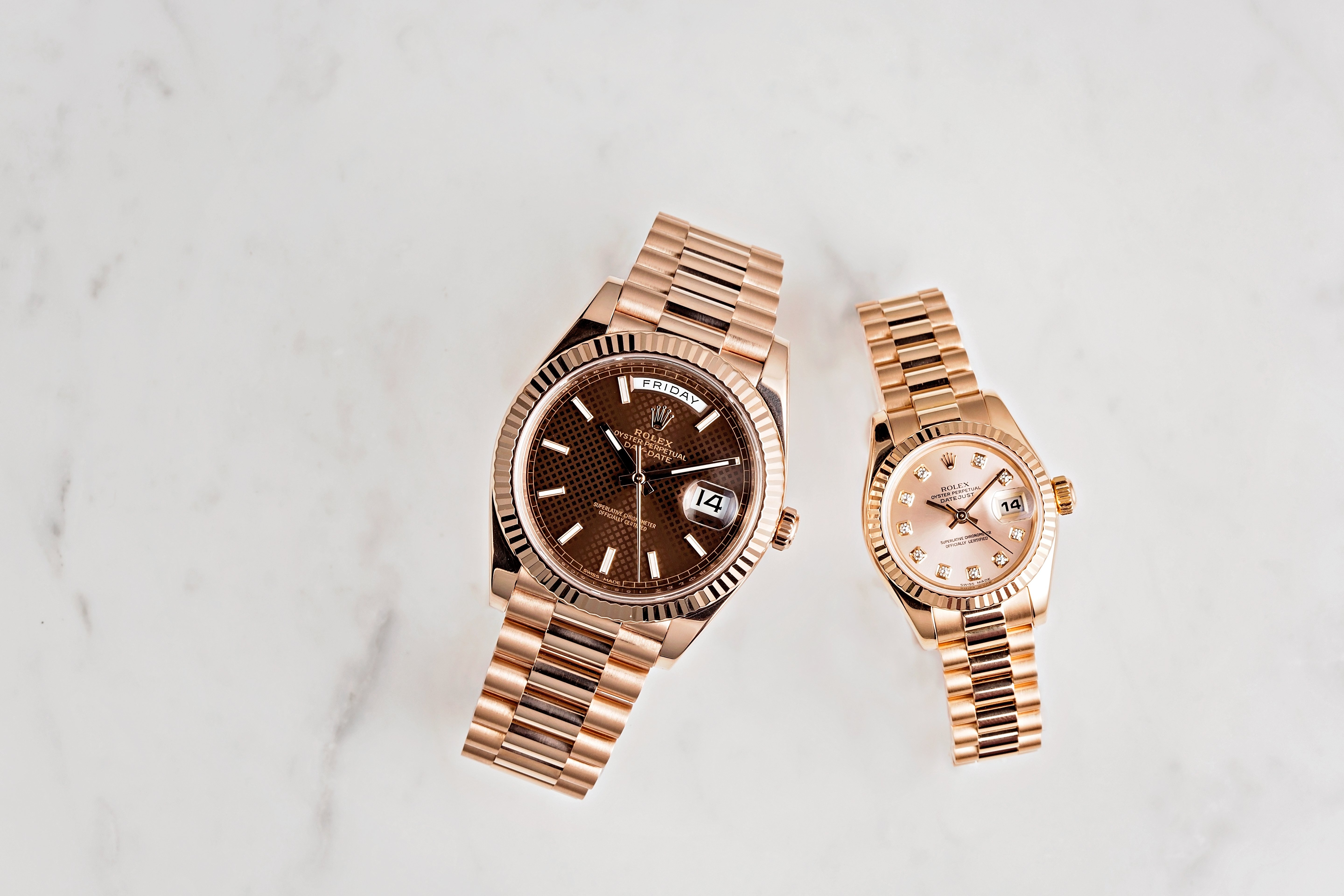 Rolex President watches are a great Valentine's Day gifts