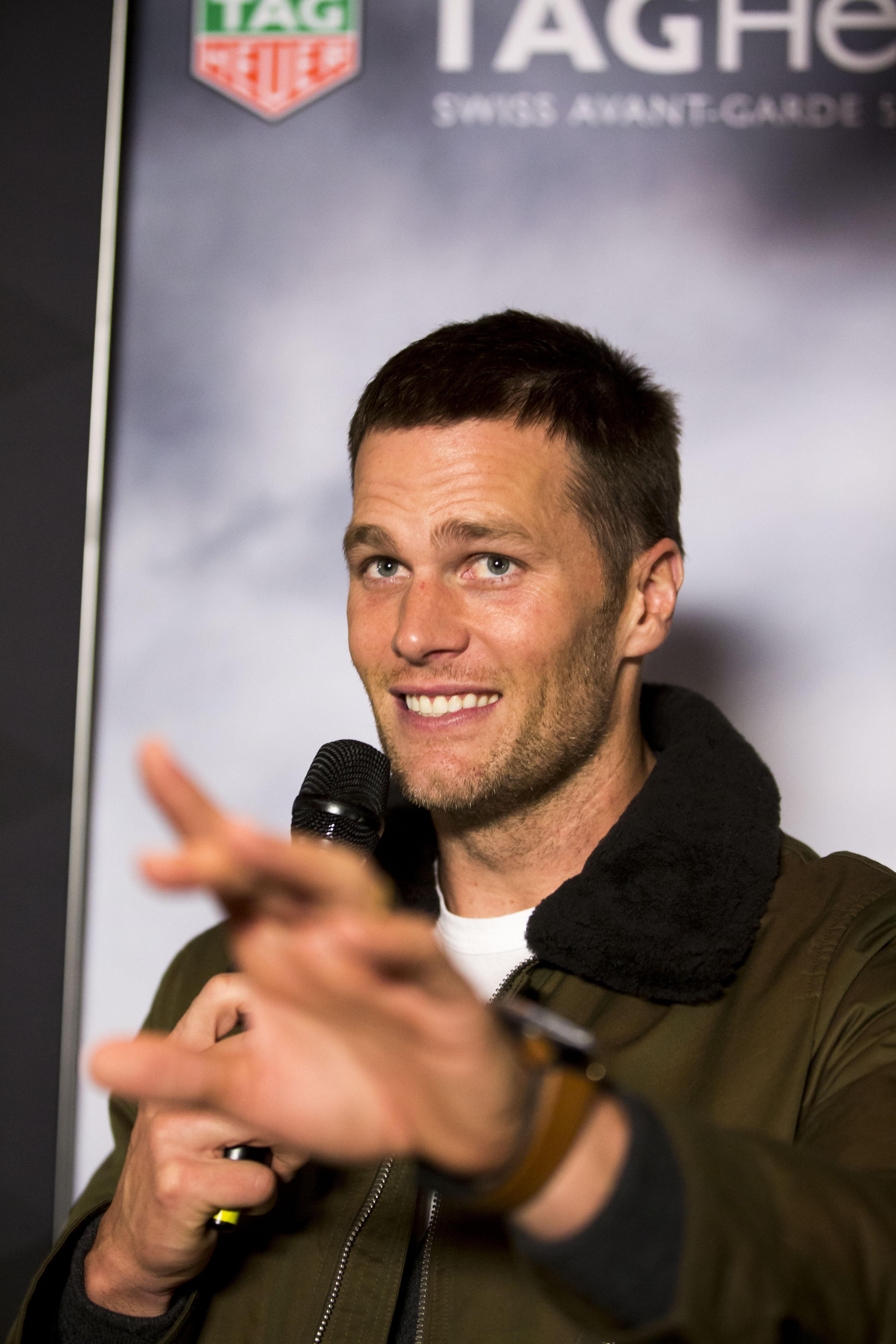 TAG Heuer sponsors Tom Brady.