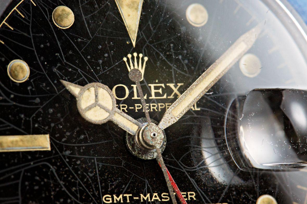 Mercedes Hands Vintage Rolex GMT-Master