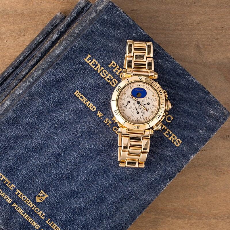 Cartier Pasha Perpetual Calendar Solid Gold