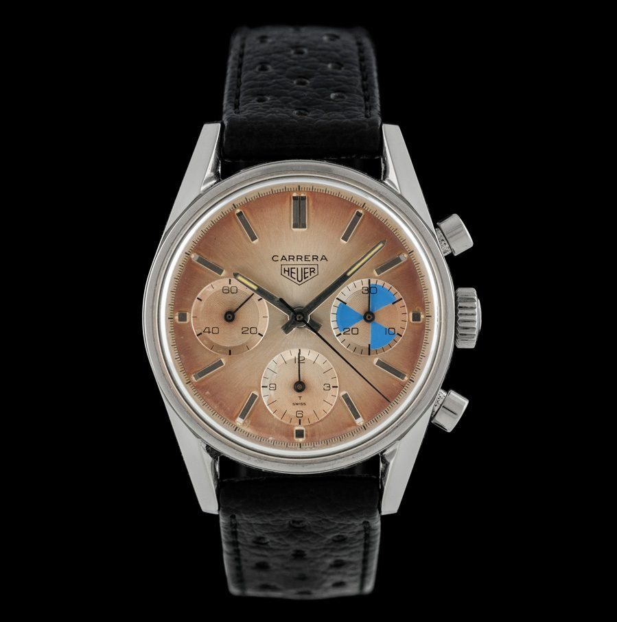This Heuer is a stunning timepiece.