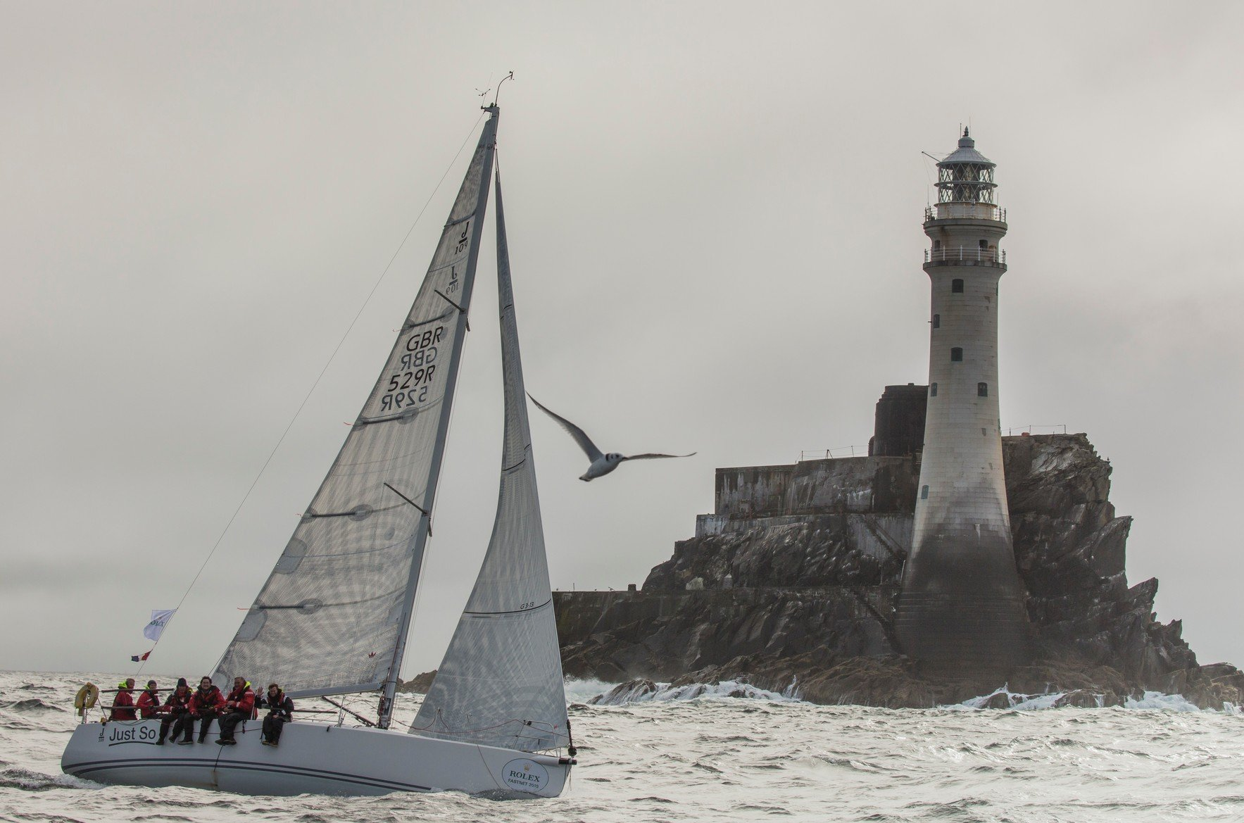 The Fastnet Race 2017 is a famous race.