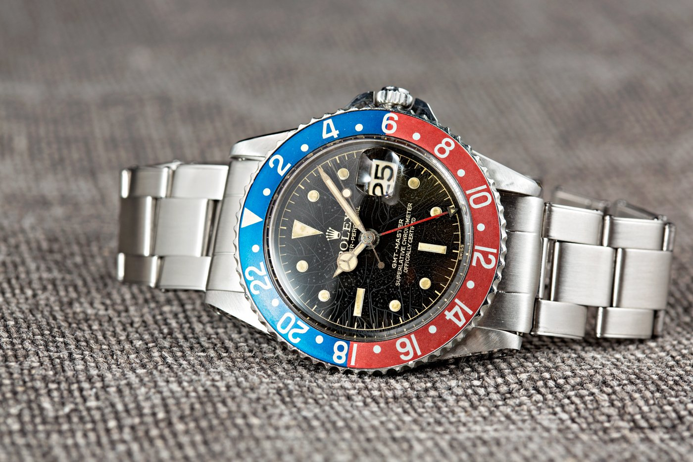 A 1675 GMT-Master fulfilled its intended audience, pilots.