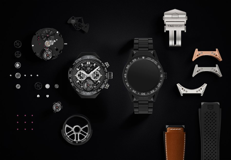 The Connected Modular 45 by Tag Heuer is a watch sure to make headlines.