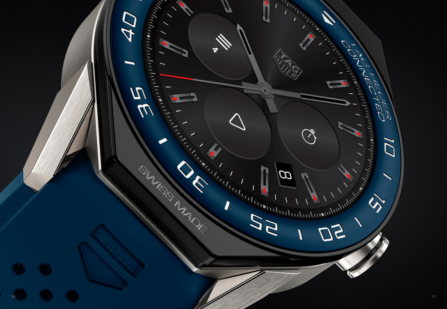 The watch's aesthetics can be modified.