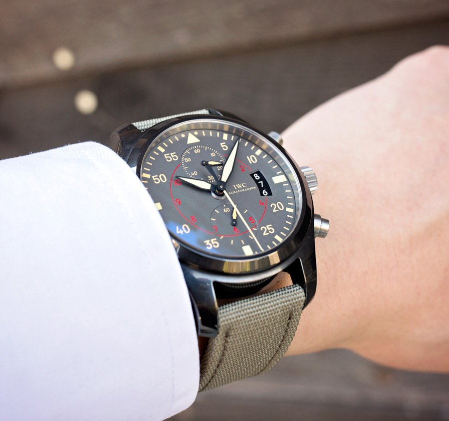 The IWC Top Gun Miramar is a watch for the elite solider.