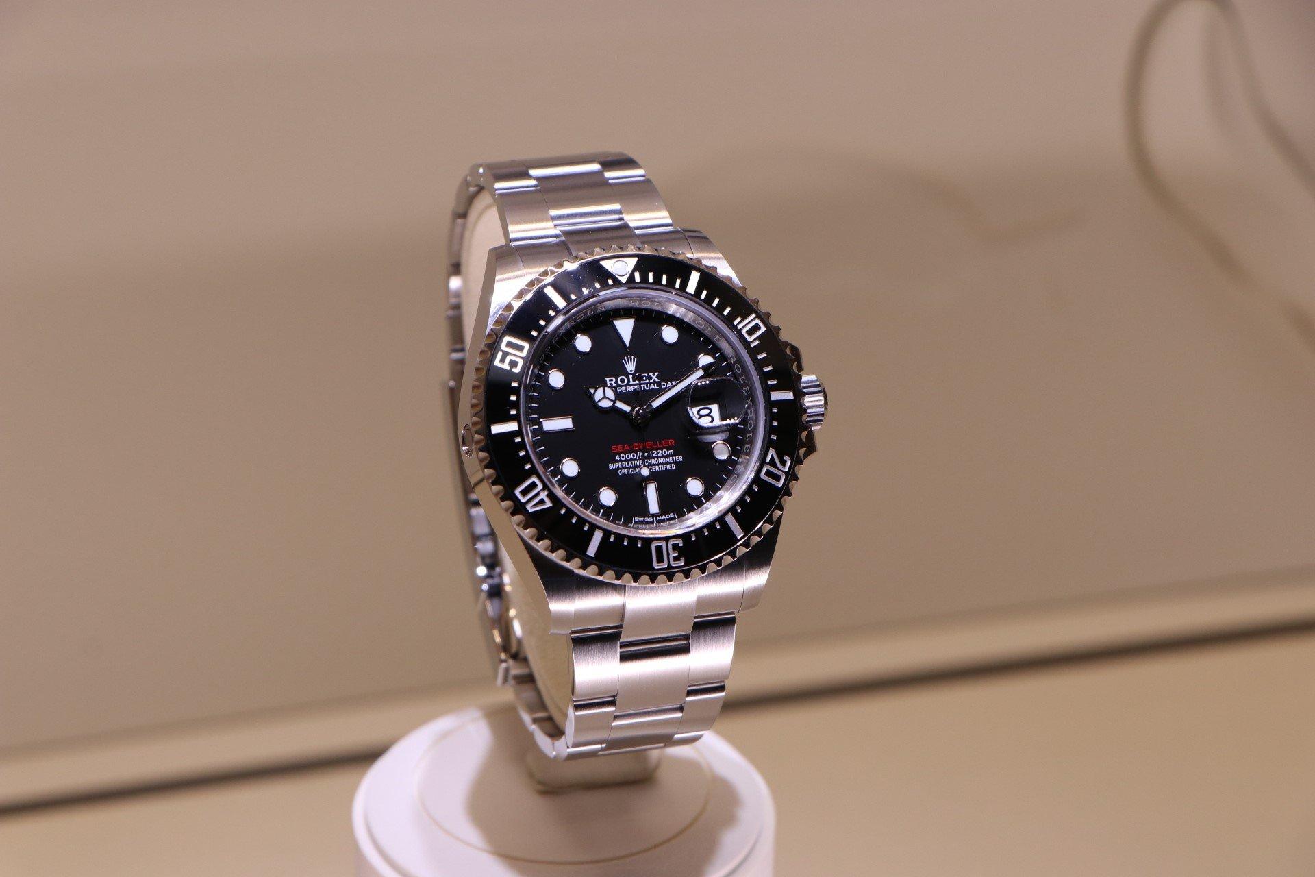 Rolex Sea-Dweller 126600 at baselworld 2017