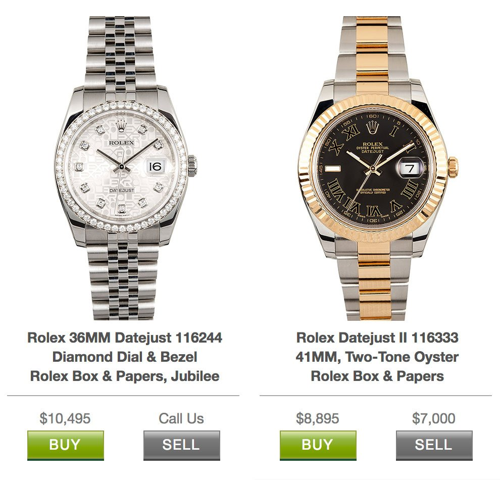 Did You Know That Rolex Prices Are Now Public Bob S Watches