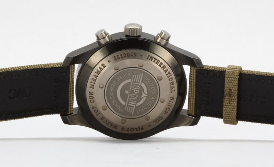 The Top Gun Miramar is one of the preferred watches as a pilot.