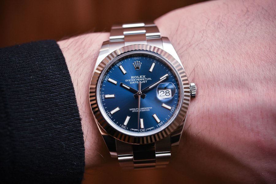 Rolex Datejust 41 from Baselworld 2017.