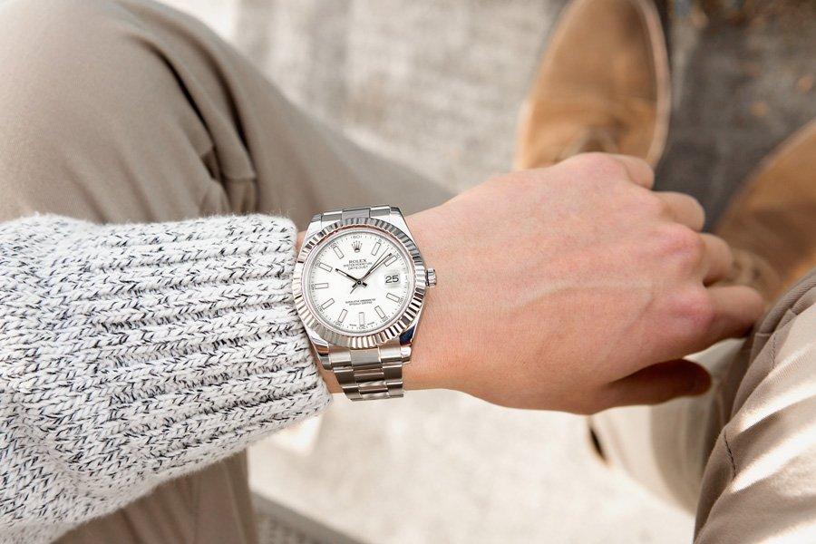 The Datejust is a watch for professional settings.