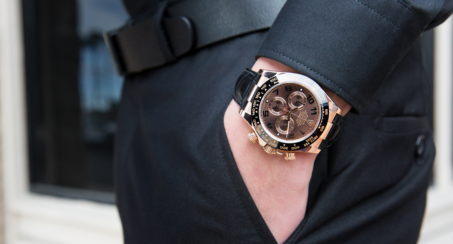 The Daytona 116515 is highly accurate watch.
