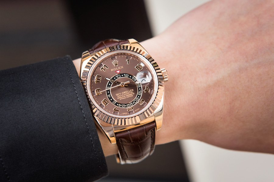 The Rolex Sky-Dweller isn't an icon yet, but it's on its way to being a classic