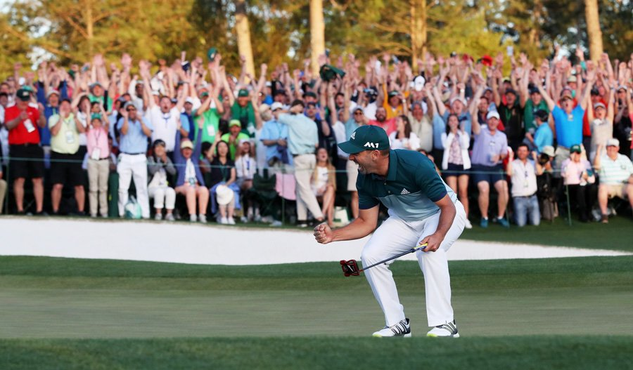 Sergio Garcia wins the Masters.