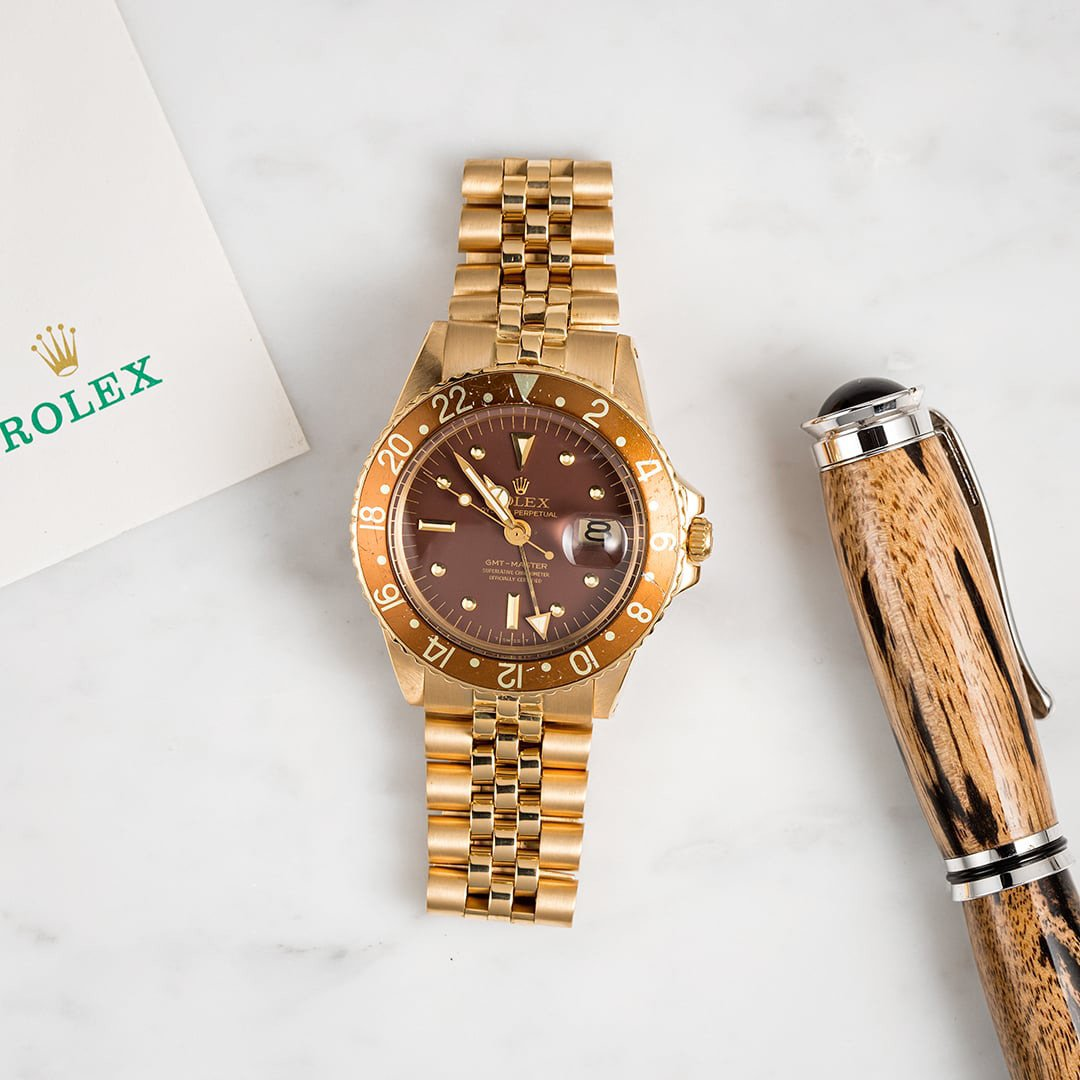 Men's Golden watches