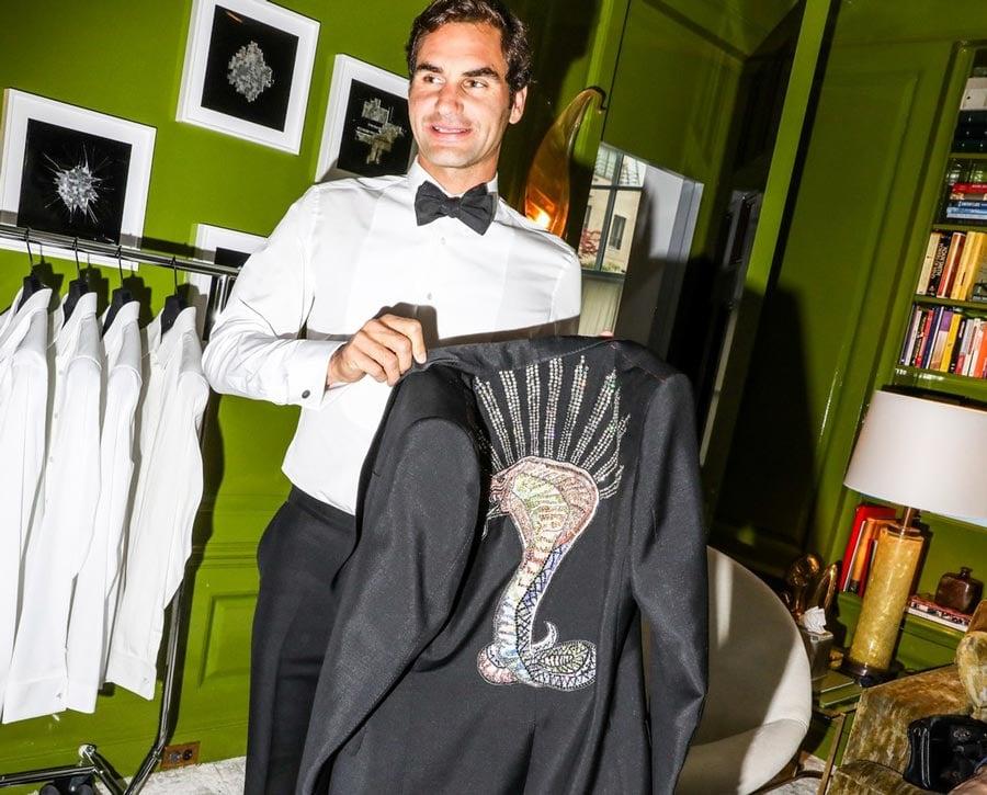 Roger Federer at Met Gala