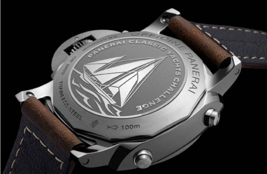 The Panerai is a great watch for those love to sail.