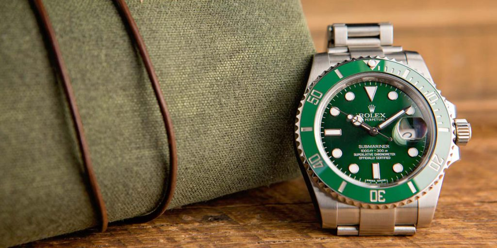 "The Rolex Submariner 116610LV ""Hulk"""