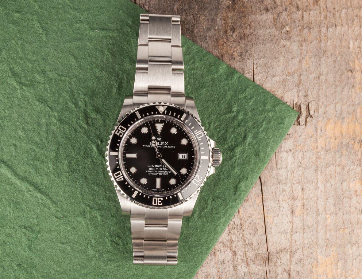 Rolex Sea-Dweller Ceramic Bezel 116600 Review Guide