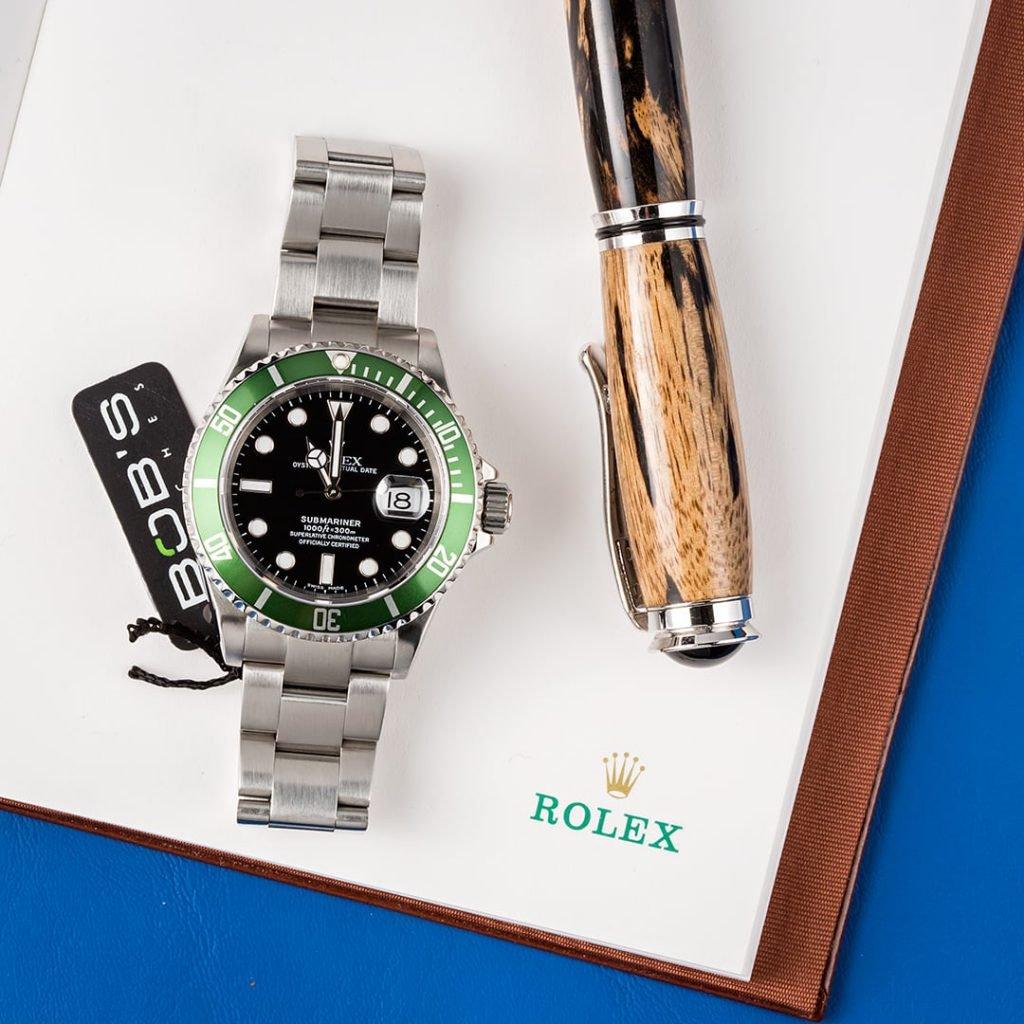 """Anniversary Rolex Submariner ref. 16610LV """"Kermit"""""""