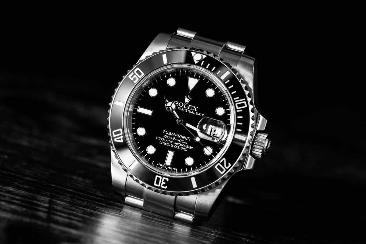 The Submariner is one of the most iconic watches.