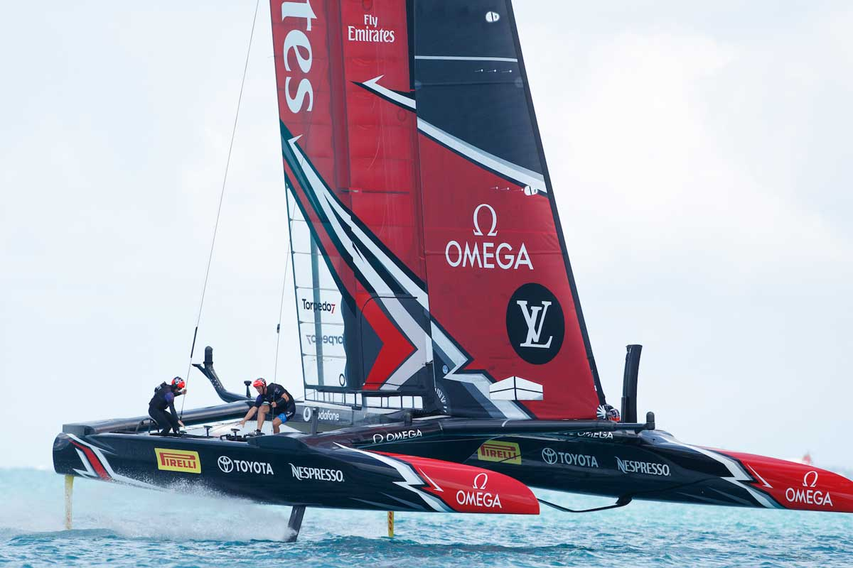 Omega and America's Cup.