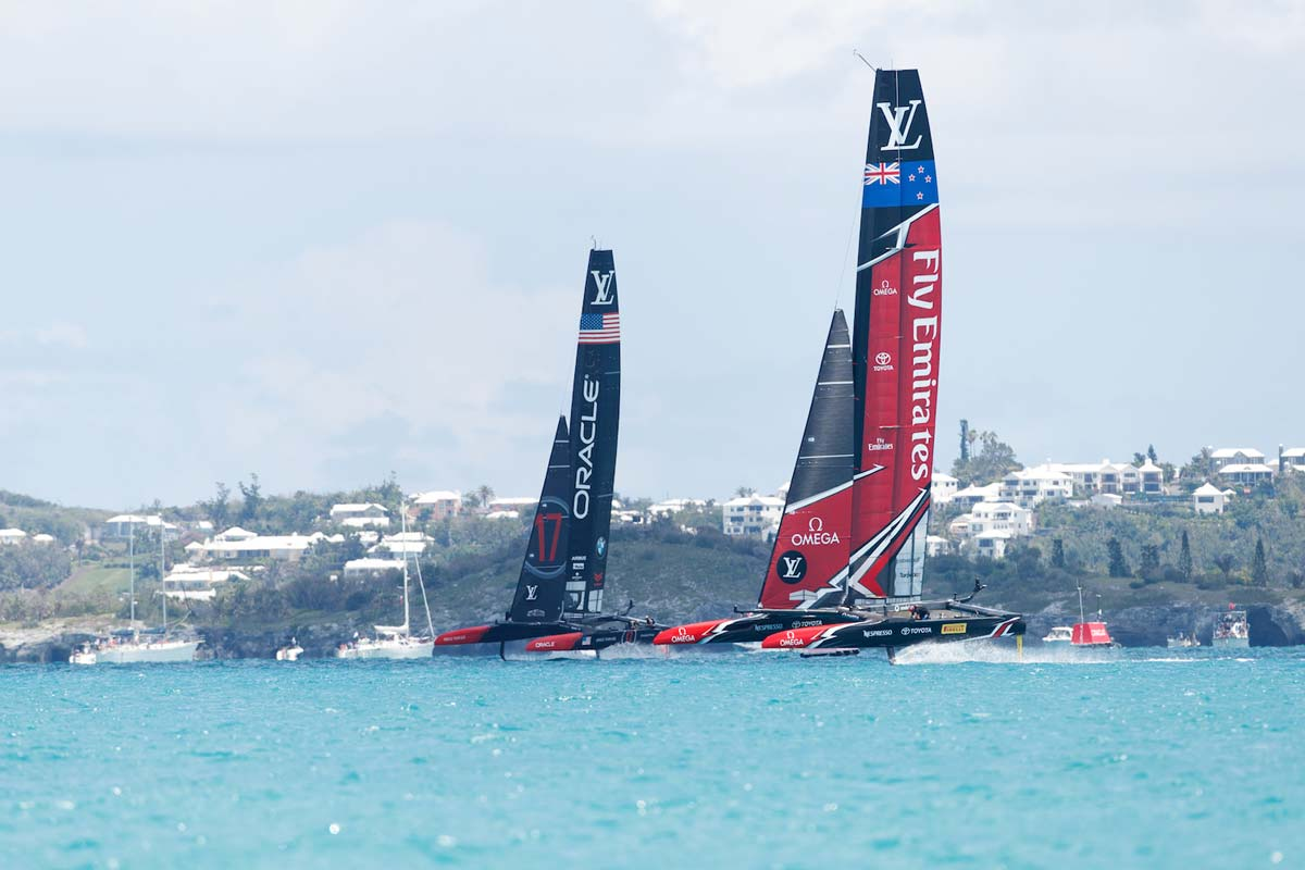 Omega at America's Cup