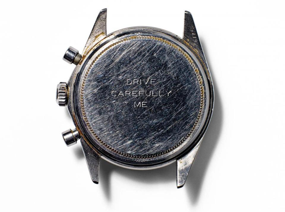 The watch owned by Paul Newman himself fetched for over $17,000,000 when it went up for watch auction last year