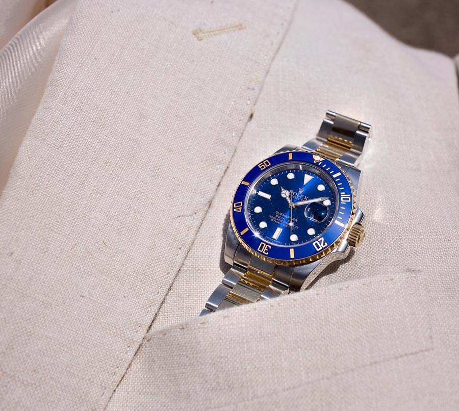 A Two-Tone Submariner.