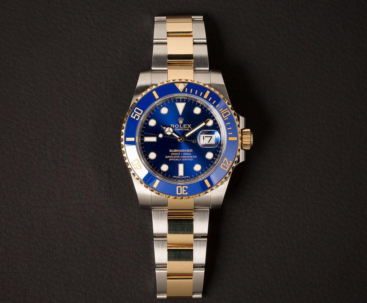 Rolex Submariner 116613 Blue Sunburst Dial 116613LB