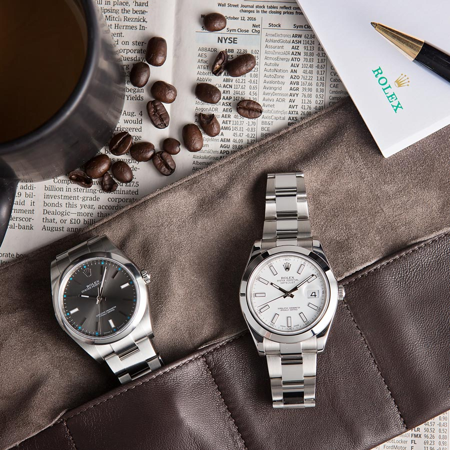 Oyster Perpetual and Datejust
