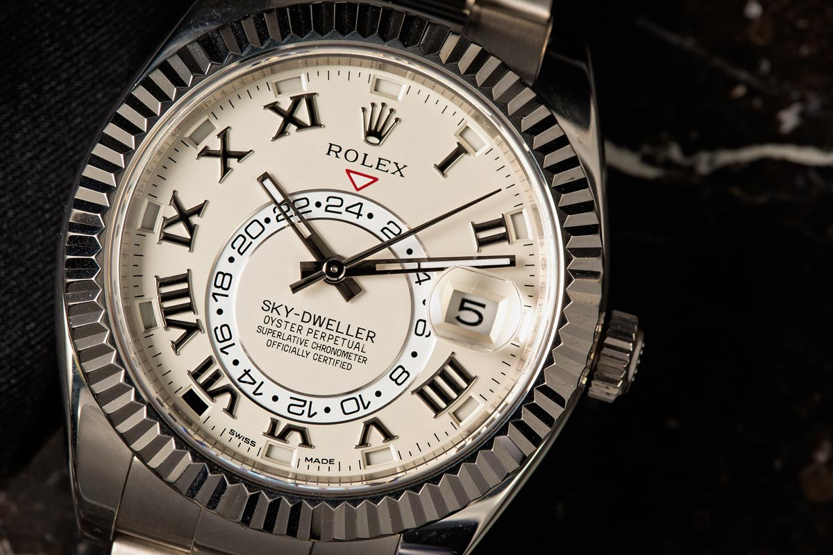 Sky-Dweller most complicated Rolex movements