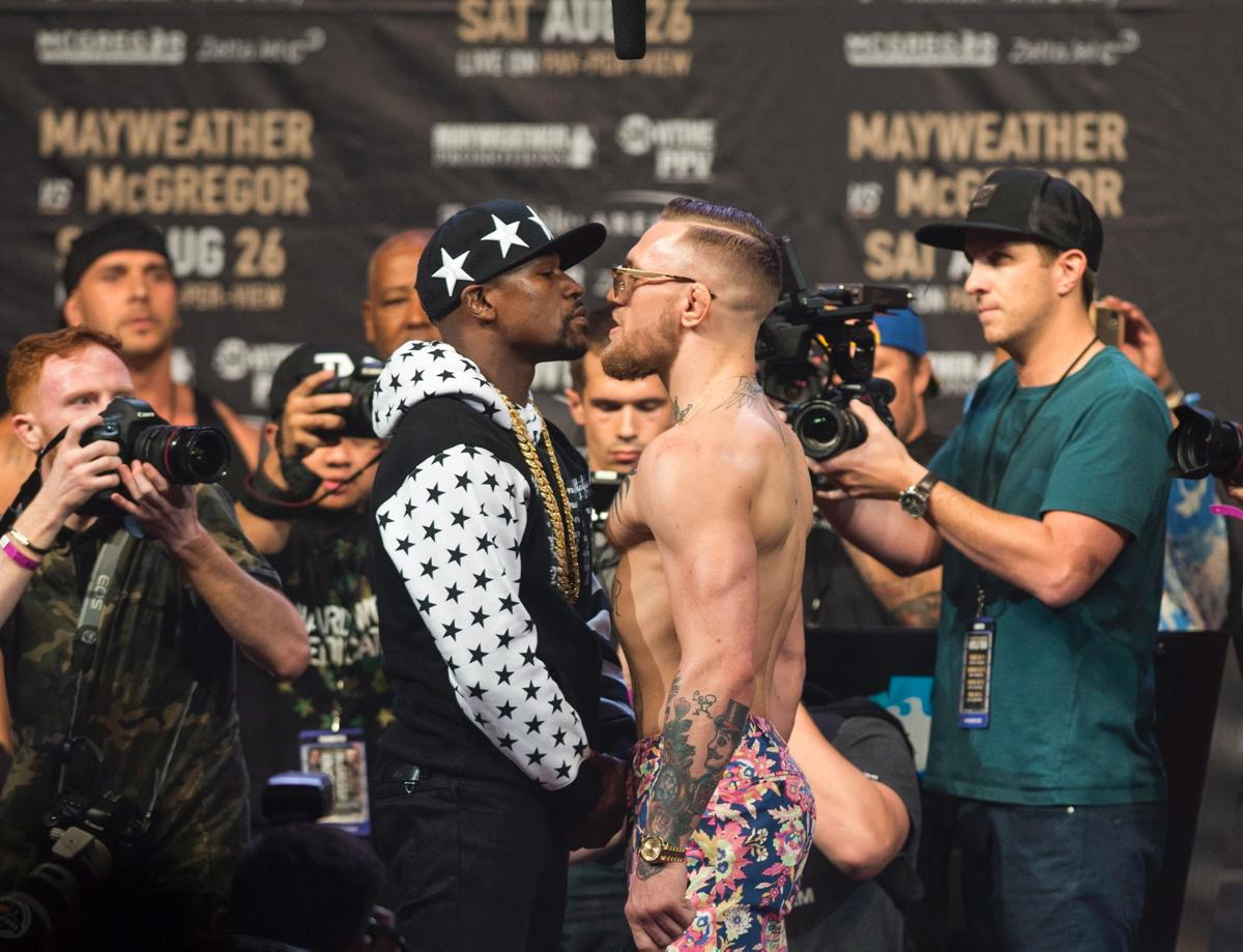 McGregor and Mayweather showdown between two Rolex fans