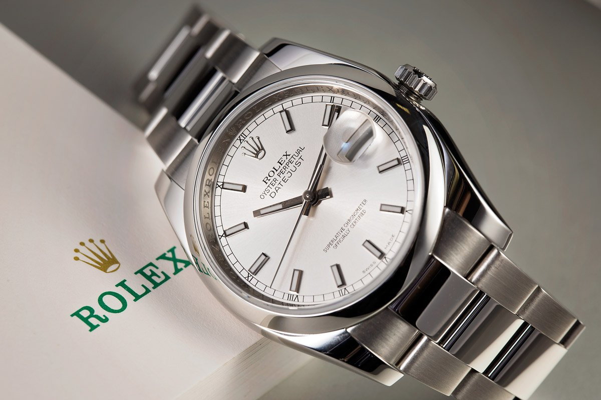 Stainless Steel Rolex Watches
