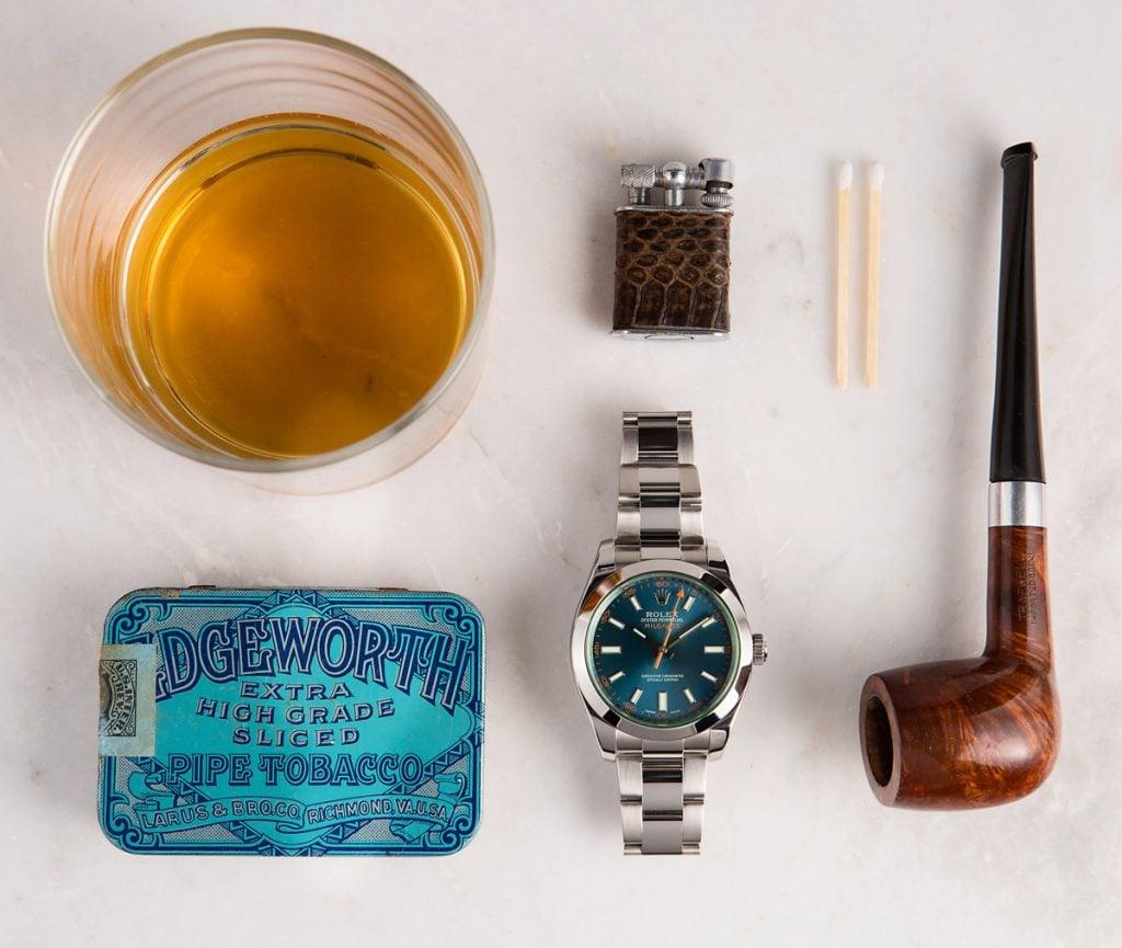 The blue dial Milgauss