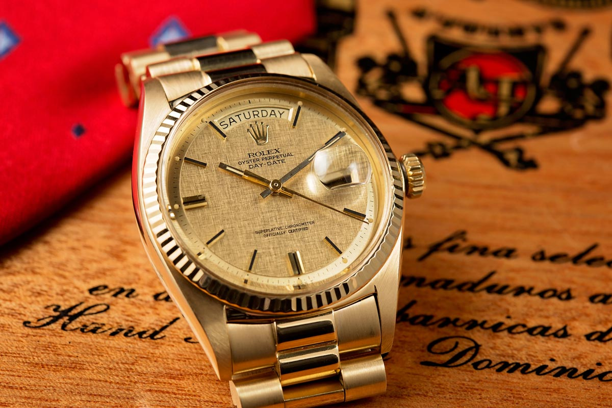 ea5a55998bb Under $10k: The Rolex Day-Date Reference 1803 - Bob's Watches