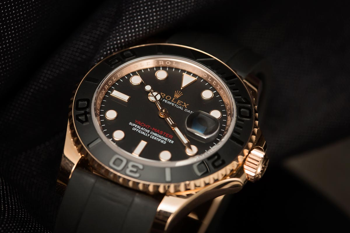 Everose Yacht-Master Gold