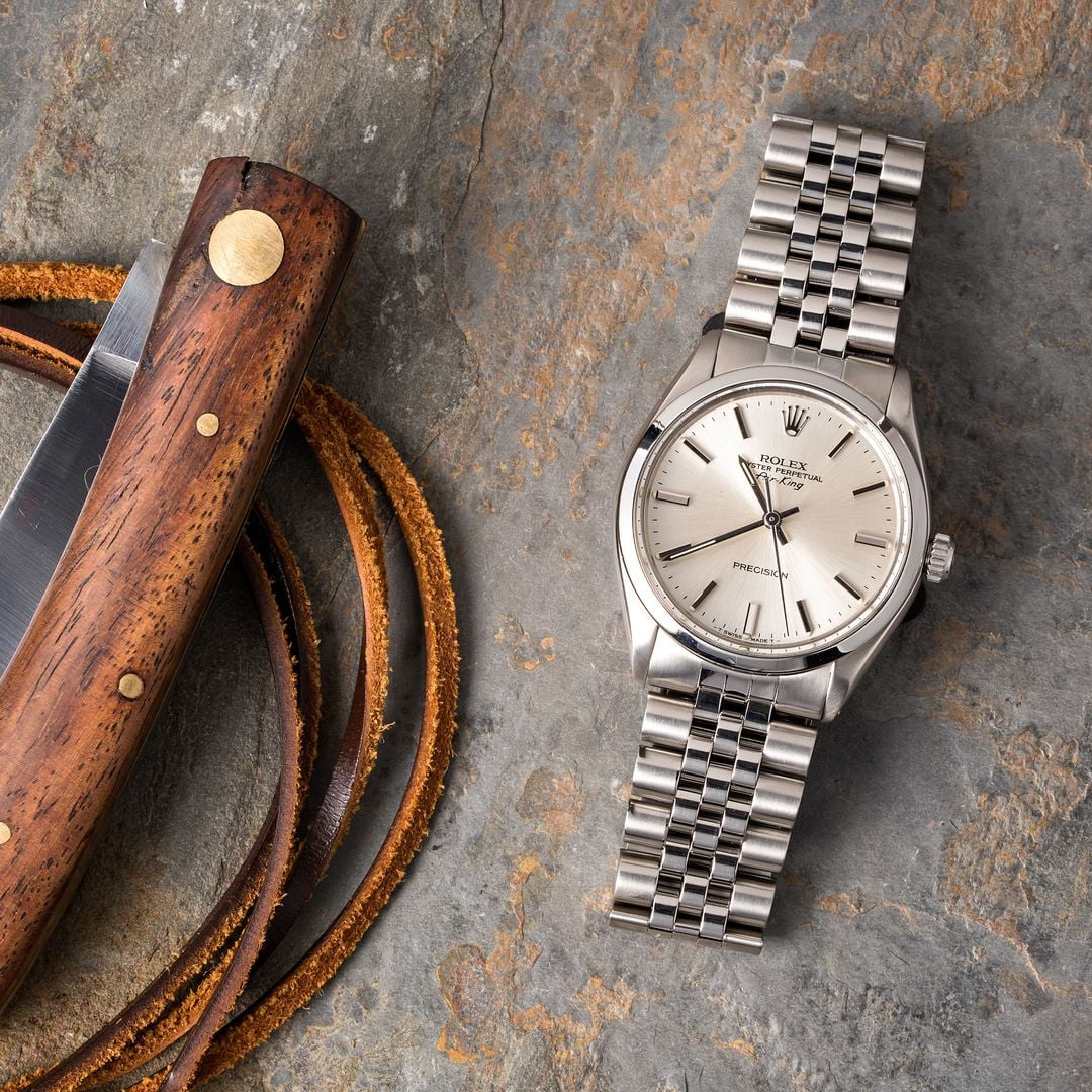 The Rolex Air-King 5500 is the precursor to the new line